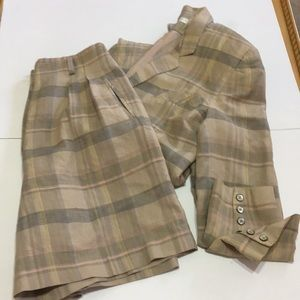 The Limited Jackets & Coats - The Limited plaid suit